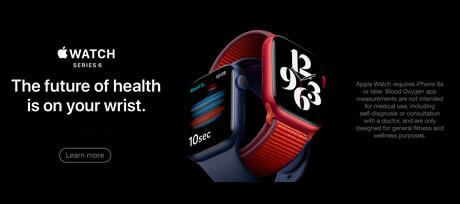Apple Watch S6 coming soon