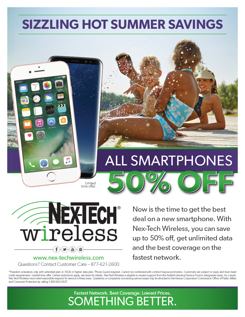 50% Off Smartphones Flyer